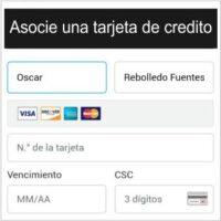 PayPal me pide una tarjeta de crédito