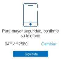 No puedo entrar a PayPal, me pide que confirme mi Teléfono
